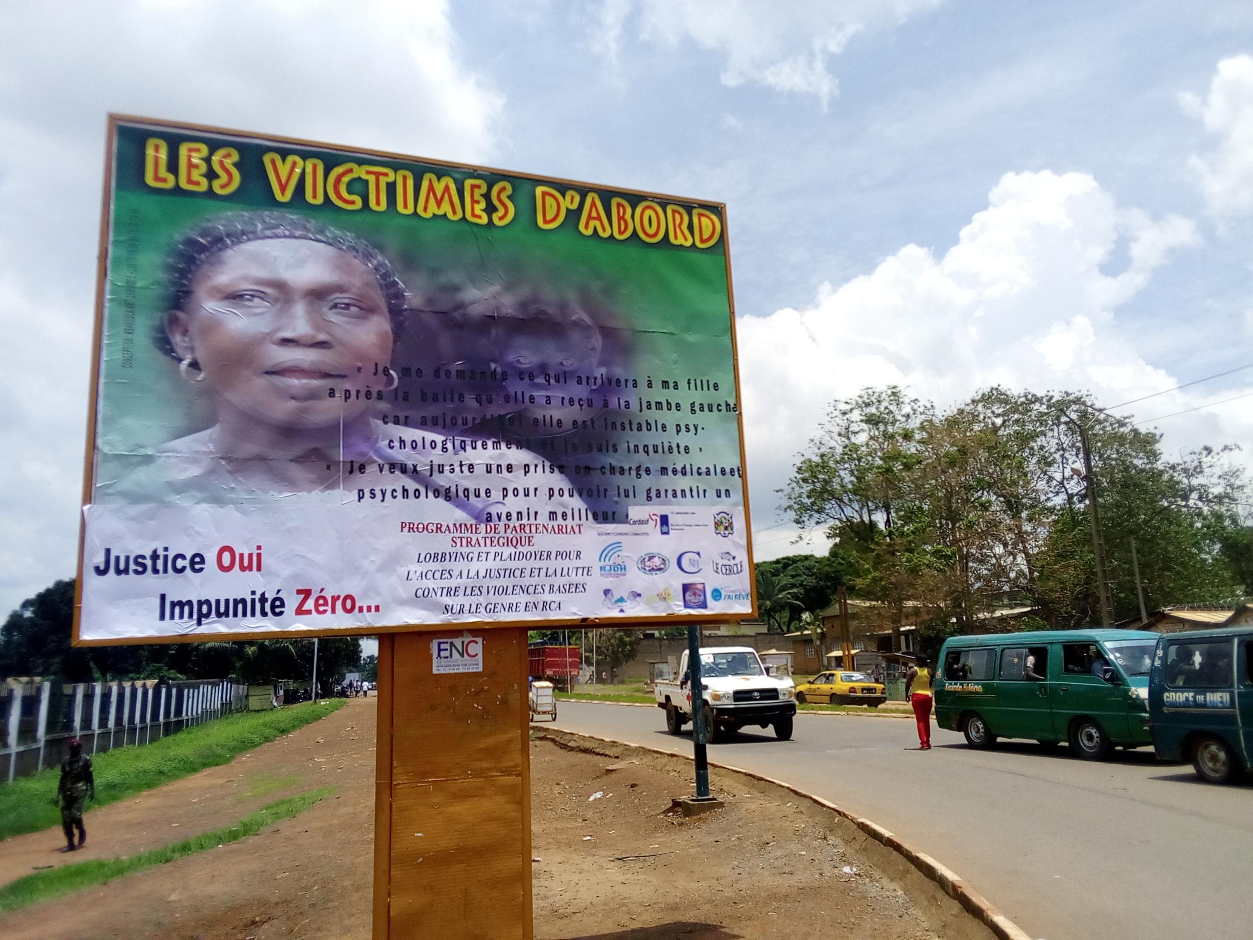 8 mars: les femmes marchent pour la paix en Centrafrique