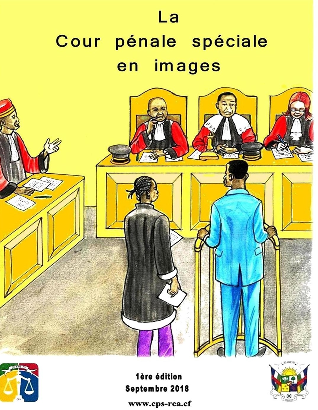 Lutte contre l'impunité: L'ONU, l'UE  appuient la Cour Pénale Spéciale centrafricaine